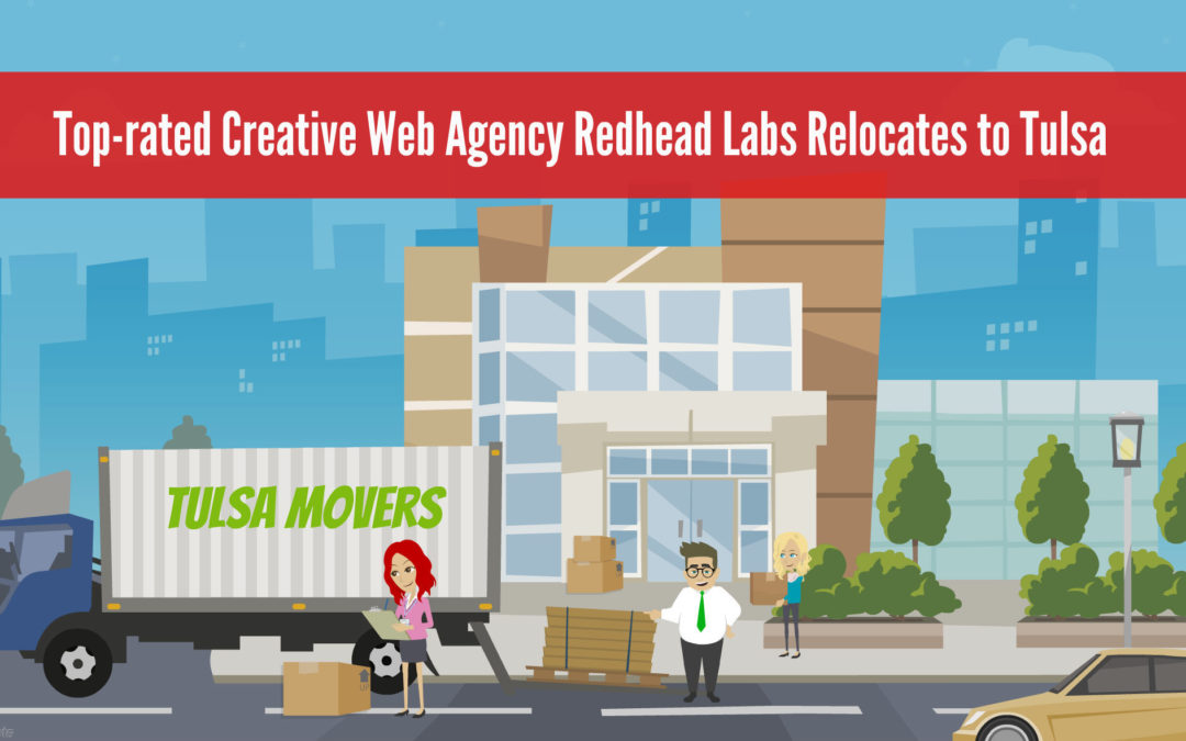 Top-rated Creative Web Agency Redhead Labs Relocates to Tulsa