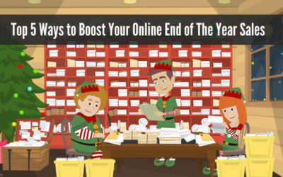 Top 5 Ways to Boost Your Online End of The Year Sales
