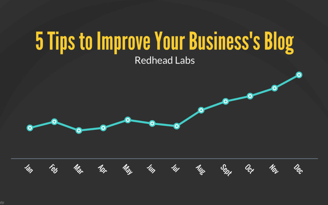 5 Tips to Improve Your Business's Blog